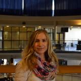 Ura ruotsinkielen parissa oli selkeä valinta Annina Tasalalle. Kuva: Joonas Valjus