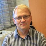 Uusi vararehtorimme Jarno Hautamäki pitää koulutusta hyvin tärkeänä. Kuva: Heikki Tervanen