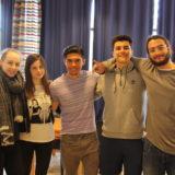 Karla Laib (vas.), Chiara Gerna, Anthony Liberty, Giulio Finnotto ja Luca Girasole. (Kuva: Siiri Parviainen)