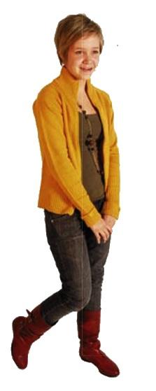 """""""Aino Pekkarinen on Järjen suloinen ekaluokkalainen. Hän ei tiedä vielä mitä tulee tekemään isona ja luokittelee itsensä vain tavistoimittajaksi. Ainon stereoissa soi Phil Collins ja Celine Dion, näköradiossa pyörii Pearl Harbour"""" - Järki 1 -07/08"""